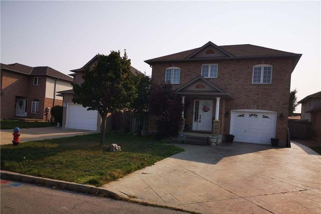 House for sale at 21 Termoli Ct Hamilton Ontario - MLS: H4088902