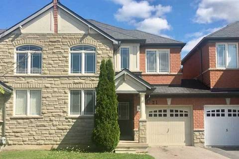 Townhouse for rent at 21 Vandervoort Dr Richmond Hill Ontario - MLS: N4572637