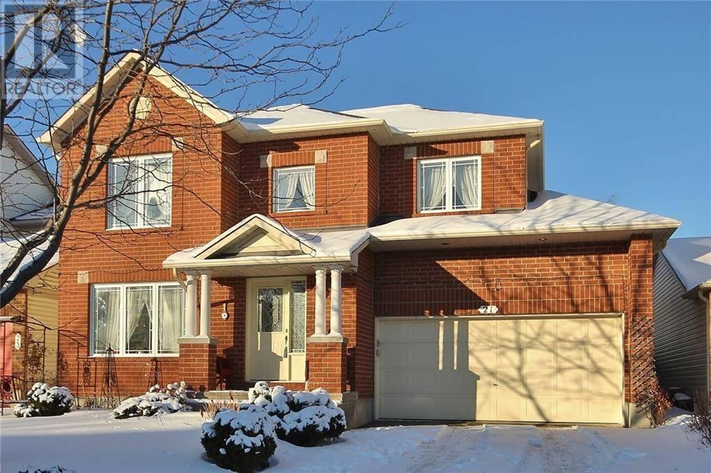 House for sale at 21 Waterbridge Dr Ottawa Ontario - MLS: 1178542