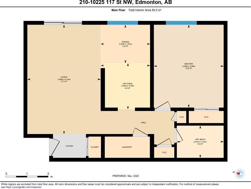 Condo for sale at 10225 117 St Nw Unit 210 Edmonton Alberta - MLS: E4192776