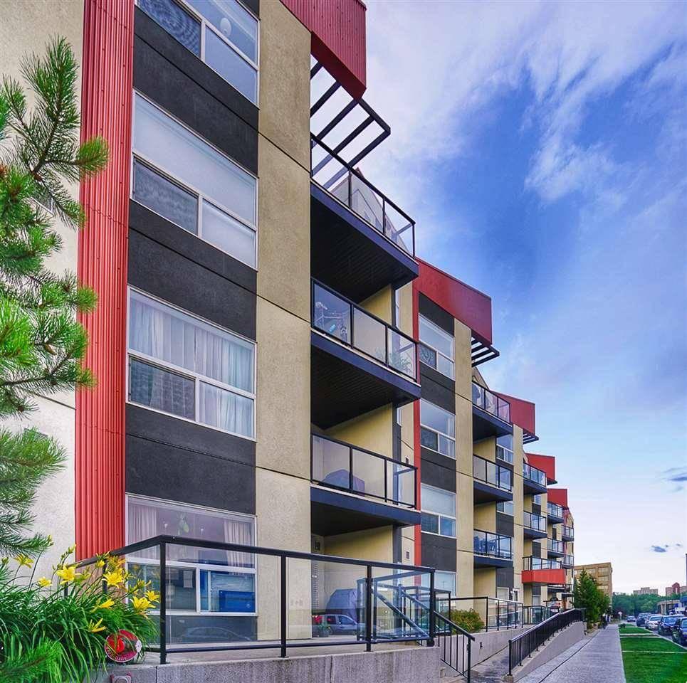 Condo for sale at 10523 123 St Nw Unit 210 Edmonton Alberta - MLS: E4191503
