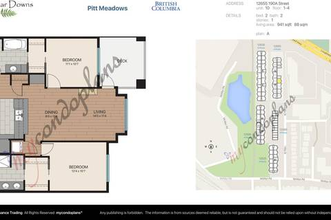 Condo for sale at 12655 190a St Unit 210 Pitt Meadows British Columbia - MLS: R2332565
