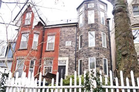 Townhouse for rent at 210 Brunswick Ave Toronto Ontario - MLS: C4661424