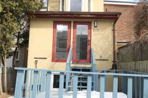 Townhouse for rent at 210 Brunswick Ave Toronto Ontario - MLS: C4699481