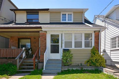 Townhouse for rent at 210 Cedarvale Ave Toronto Ontario - MLS: E4457327