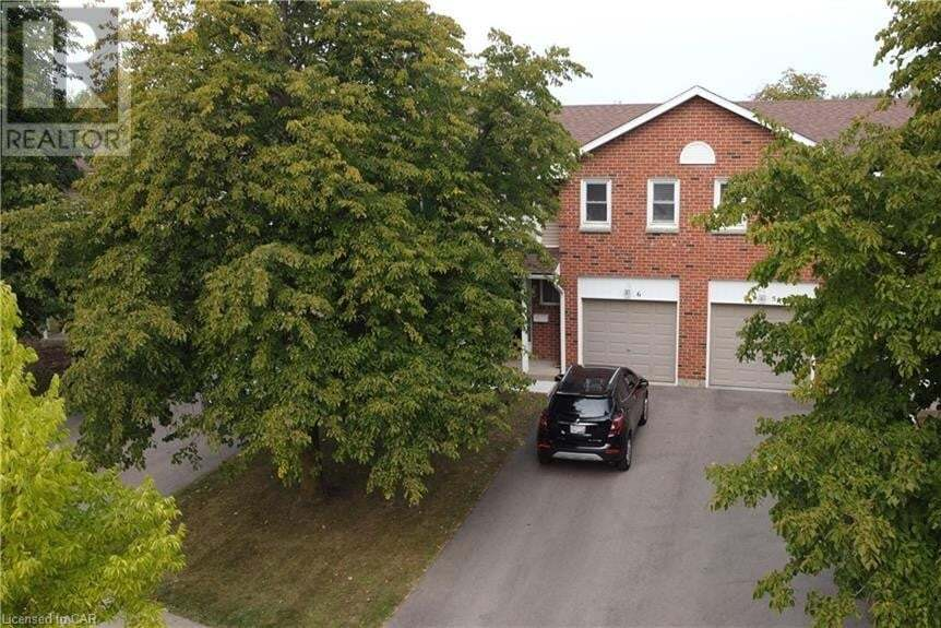 Townhouse for sale at 210 Highland Crescent Cres Kitchener Ontario - MLS: 40026817