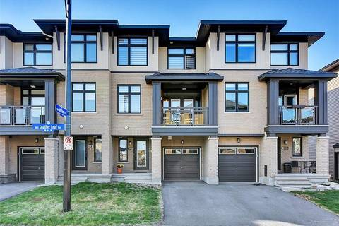 Townhouse for sale at 210 Leather Leaf Te Ottawa Ontario - MLS: 1151216