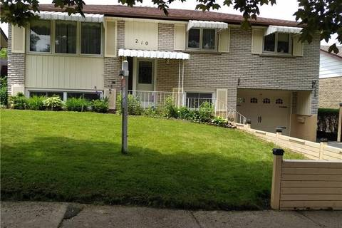 House for sale at 210 Overlea Dr Kitchener Ontario - MLS: 30722633