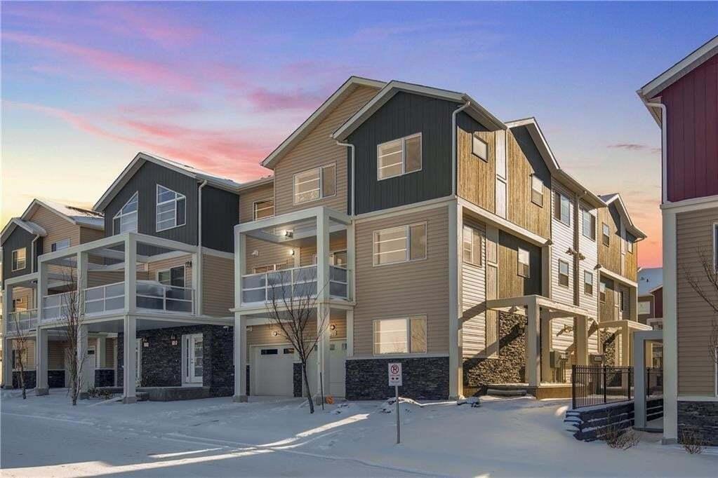 Townhouse for sale at 210 Redstone Vw NE Redstone, Calgary Alberta - MLS: C4274144