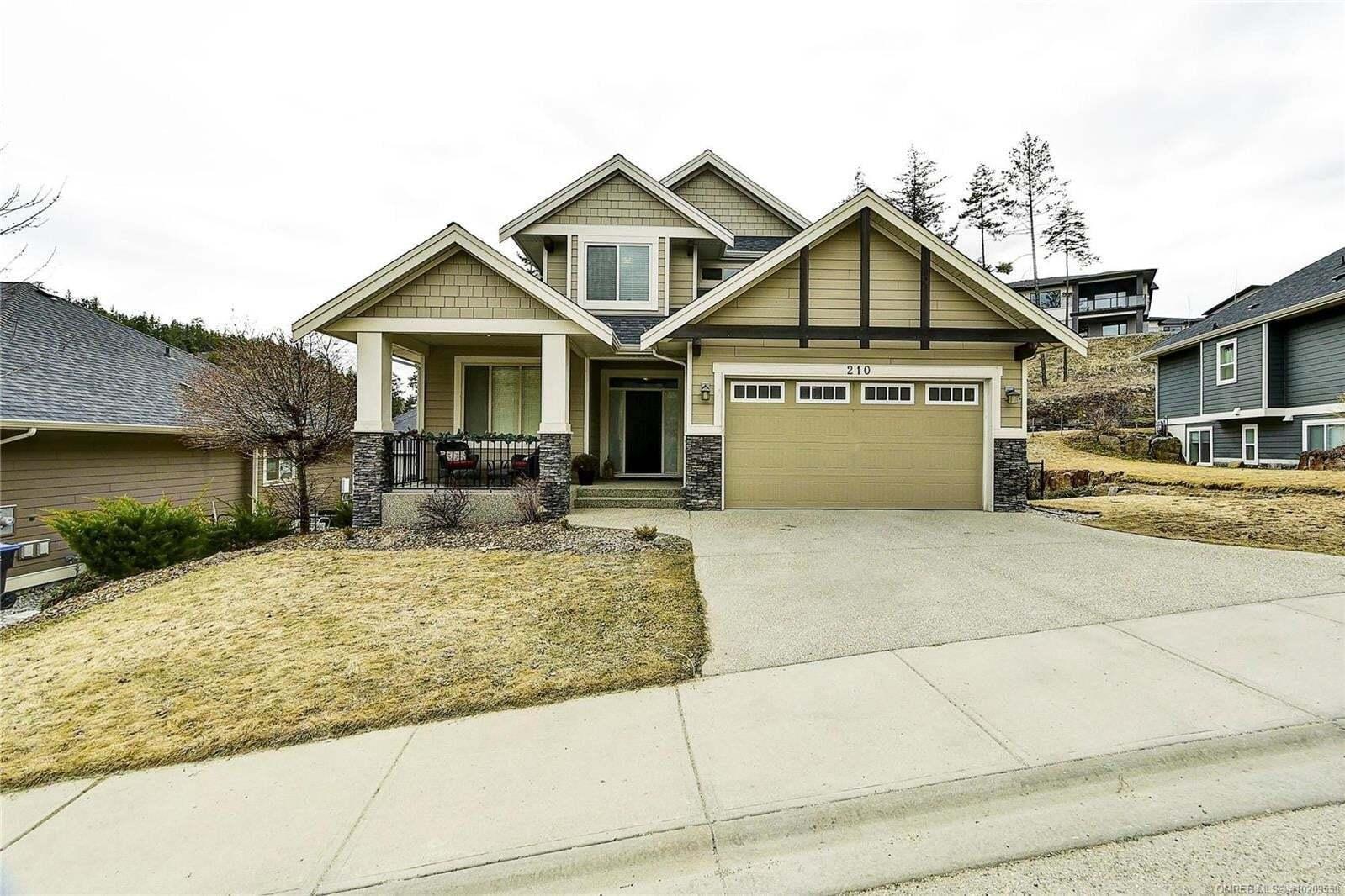 House for sale at 210 Wilden Ridge Dr Kelowna British Columbia - MLS: 10209558