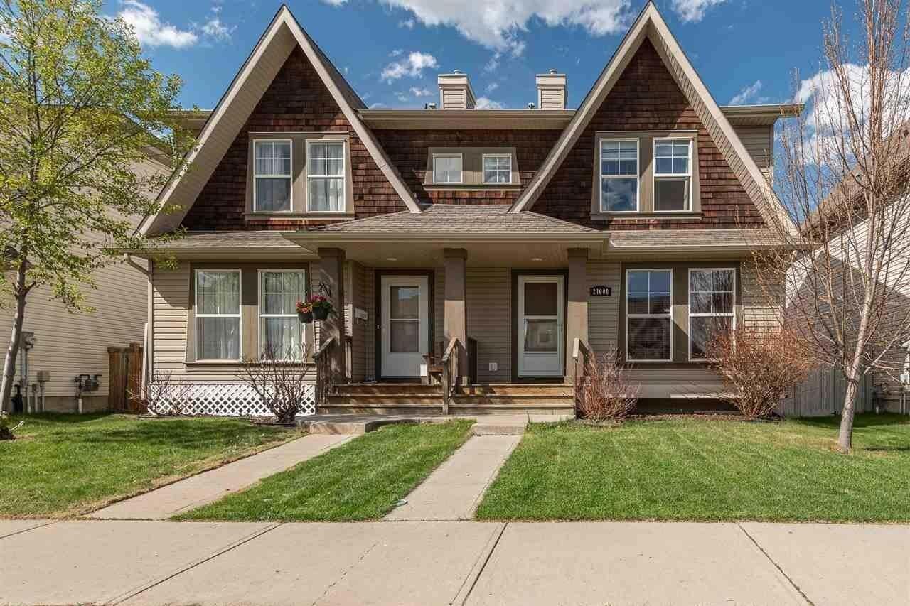 Townhouse for sale at 21008 60 Av NW Edmonton Alberta - MLS: E4197573