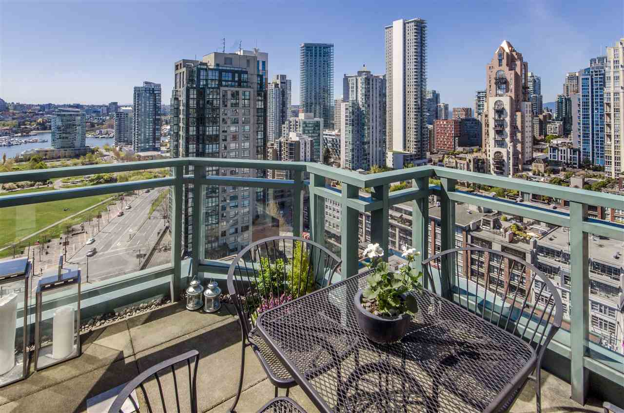 For Sale: 2103 - 212 Davie Street, Vancouver, BC | 3 Bed, 3 Bath Condo for $1,990,000. See 20 photos!