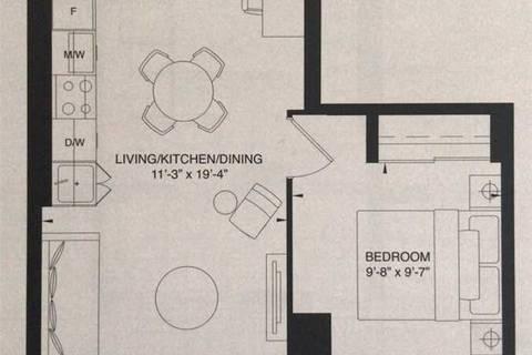 Apartment for rent at 200 Dundas St Unit 2104 Toronto Ontario - MLS: C4736999