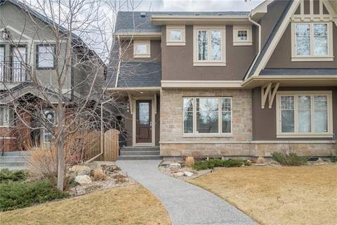 Townhouse for sale at 2105 Broadview Rd Northwest Calgary Alberta - MLS: C4244925