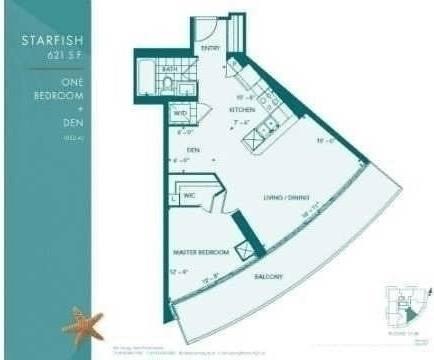 Apartment for rent at 15 Legion Rd Unit 2108 Toronto Ontario - MLS: W4584901