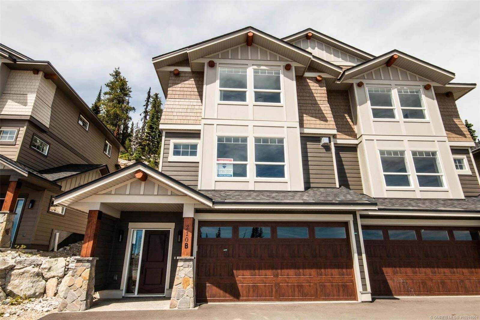 Townhouse for sale at 210 Grizzly Ridge Tr Big White British Columbia - MLS: 10211001
