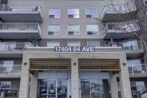 Condo for sale at 17404 64 Av NW Unit 211 Edmonton Alberta - MLS: E4207694