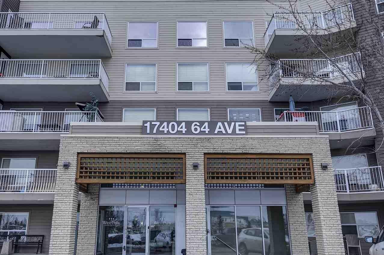 Condo for sale at 17404 64 Av NW Unit 211 Edmonton Alberta - MLS: E4221041