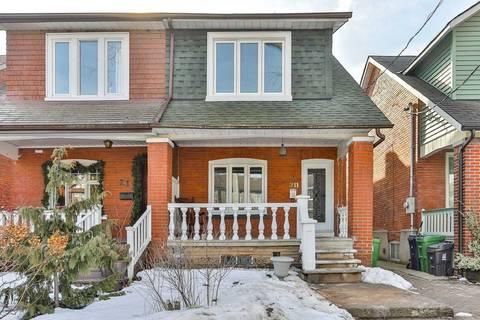 Townhouse for sale at 211 Glebeholme Blvd Toronto Ontario - MLS: E4702512