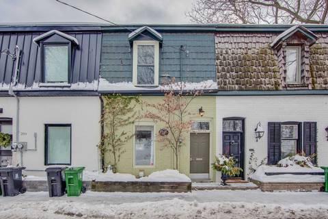 Townhouse for rent at 211 Marlborough Pl Toronto Ontario - MLS: C4680257