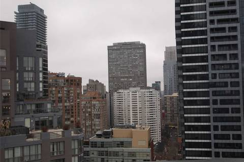 Apartment for rent at 11 Wellesley St Unit 2110 Toronto Ontario - MLS: C4686209