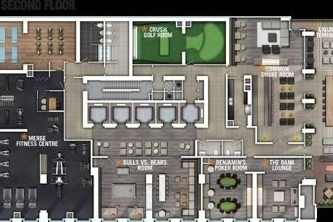 Apartment for rent at 70 Temperance St Unit 2112 Toronto Ontario - MLS: C4610076