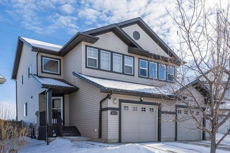 Townhouse for sale at 2113 28 St NW Edmonton Alberta - MLS: E4223284