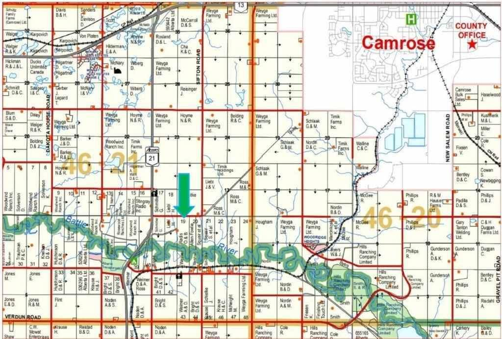 Residential property for sale at 21139 Twsp  Rural Camrose County Alberta - MLS: E4168140