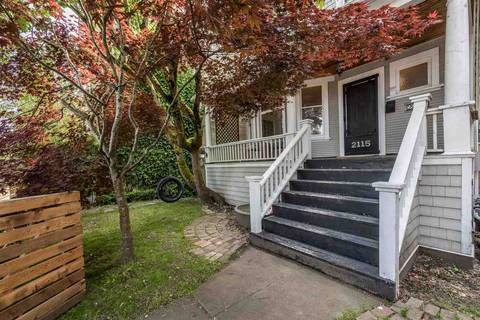 House for sale at 2115 Columbia St Vancouver British Columbia - MLS: R2403535