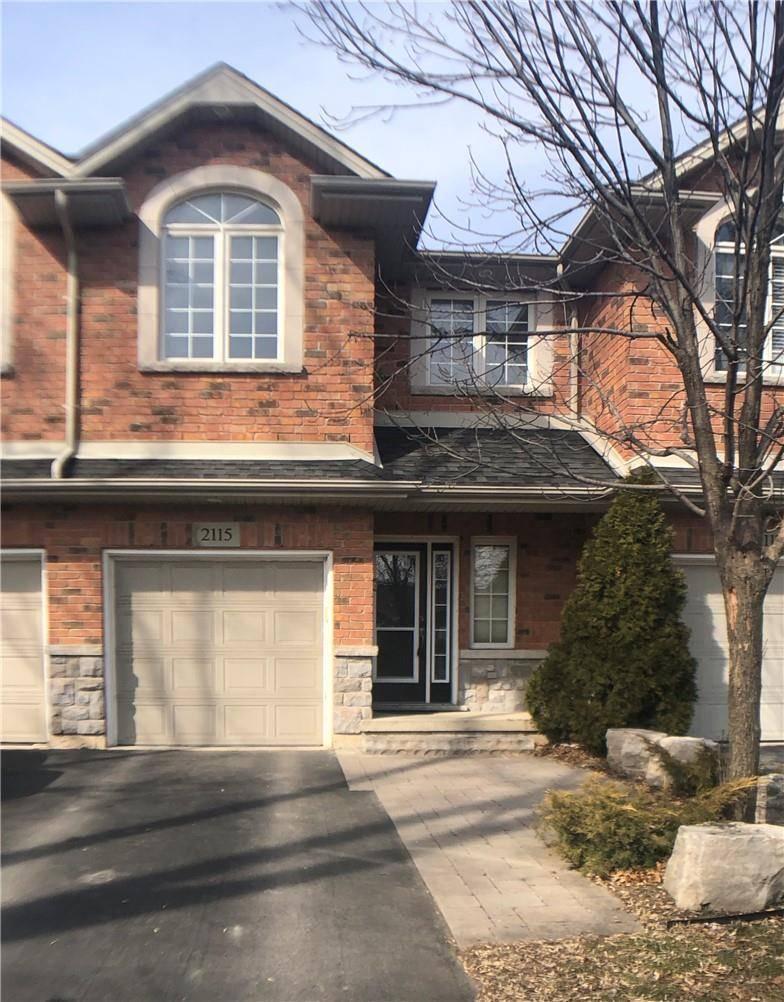 Townhouse for rent at 2115 Prospect St Burlington Ontario - MLS: H4073179