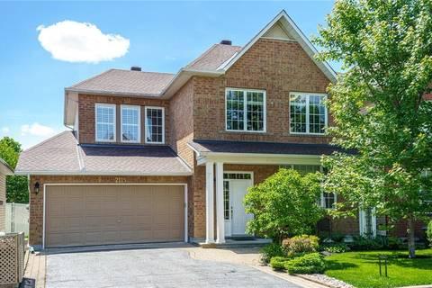 House for sale at 2115 Sandy Oaks Dr Ottawa Ontario - MLS: 1154474