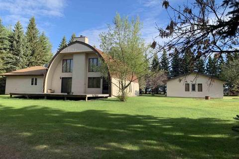 House for sale at 2115 Twp Rd Rural Barrhead County Alberta - MLS: E4145175