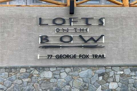 Condo for sale at 77 George Fox Tr Unit 212 Cochrane Alberta - MLS: C4297301