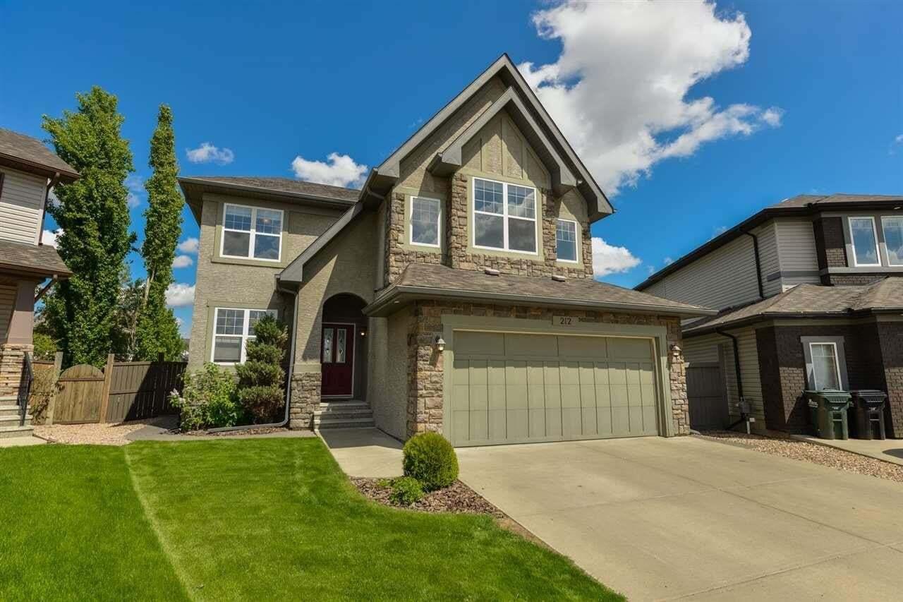 House for sale at 212 Crimson Dr Sherwood Park Alberta - MLS: E4200793