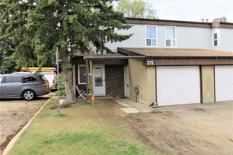 Townhouse for sale at 212 Grandin Vg  St. Albert Alberta - MLS: E4143719