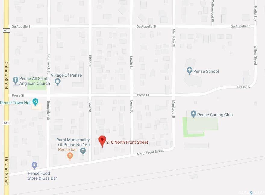Home for sale at 212 North Front St Pense Saskatchewan - MLS: SK766622