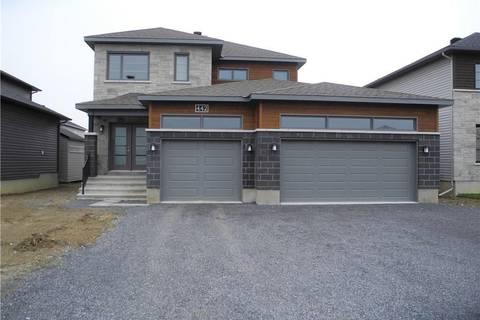 House for sale at 212 Sunset Cres Russell Ontario - MLS: 1139666
