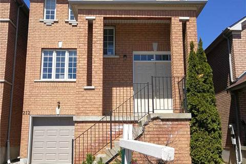 House for sale at 212 Yellowood Circ Vaughan Ontario - MLS: N4464842