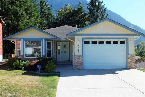 House for sale at 21205 Kettle Valley Pl Hope British Columbia - MLS: R2346030