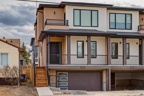 Townhouse for sale at 2127 20 Ave Southwest Calgary Alberta - MLS: C4236373
