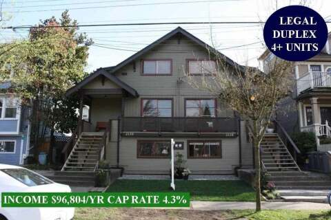 House for sale at 2128 Pender St E Vancouver British Columbia - MLS: R2471140