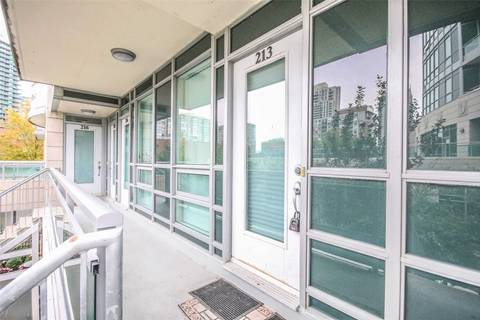 Condo for sale at 21 Olive Ave Unit 213 Toronto Ontario - MLS: C4577548