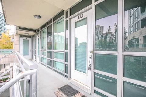 Condo for sale at 21 Olive Ave Unit 213 Toronto Ontario - MLS: C4651843