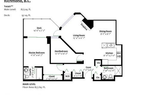 Condo for sale at 8480 Granville Ave Unit 213 Richmond British Columbia - MLS: R2454446
