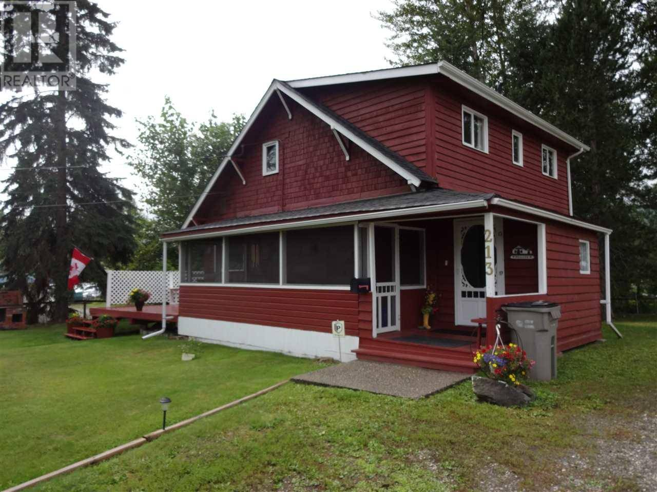 House for sale at 213 Baker Dr Quesnel British Columbia - MLS: R2367016