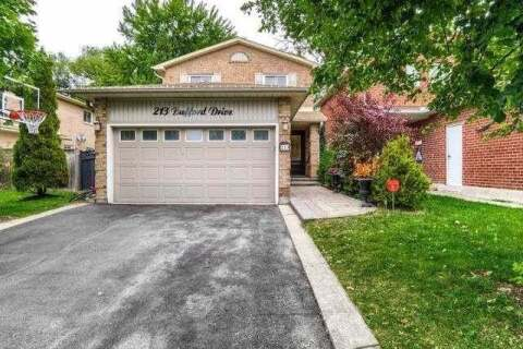 House for sale at 213 Bufford Dr Brampton Ontario - MLS: W4906019
