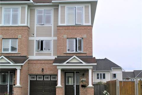 Townhouse for sale at 213 Marrissa Ave Ottawa Ontario - MLS: 1154737