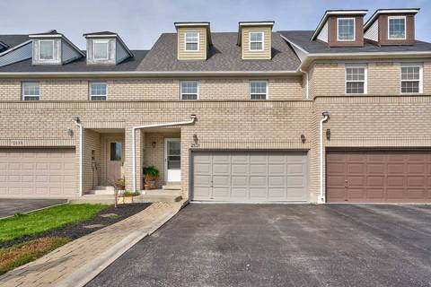 Townhouse for sale at 2131 White Dove Circ Oakville Ontario - MLS: W4434535