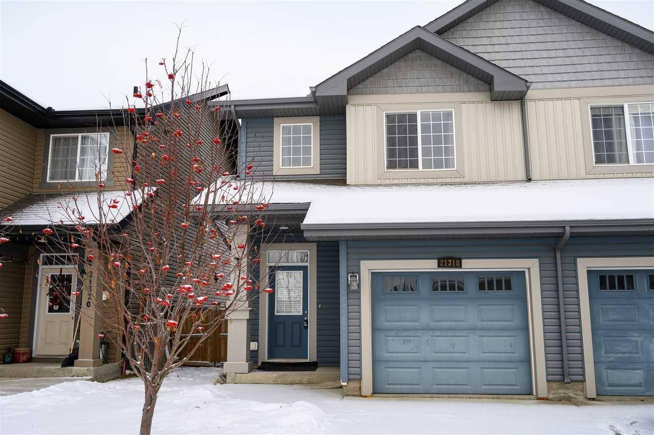 Townhouse for sale at 21318 61 Ave Nw Edmonton Alberta - MLS: E4182904