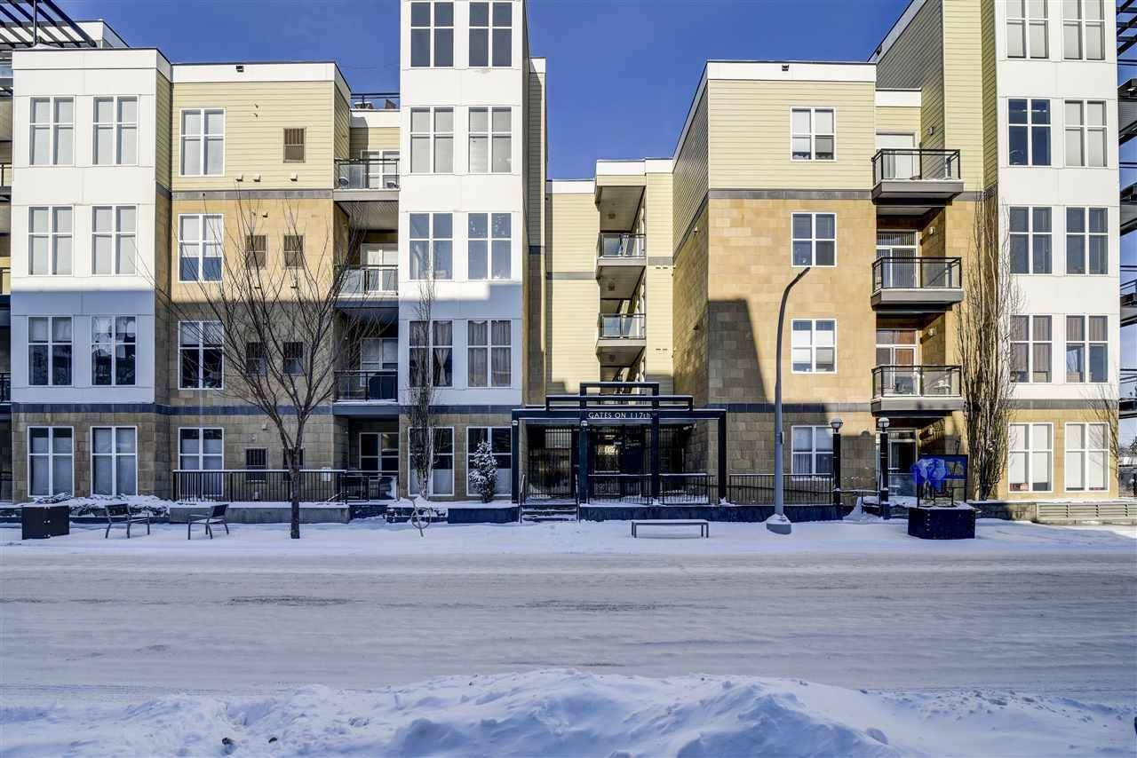 Condo for sale at 10531 117 St Nw Unit 214 Edmonton Alberta - MLS: E4183808